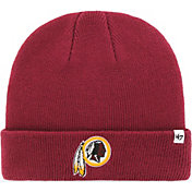 ef88db27106dc0 Product Image · '47 Men's Washington Redskins Basic Cardinal Cuffed Knit  Beanie · '