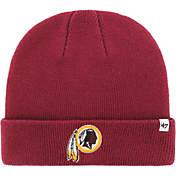 watch c7d26 9dfb2 47 Mens Washington Redskins Basic Cardinal Cuffed Knit Beanie.