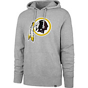 '47 Men's Washington Redskins Headline Grey Hoodie