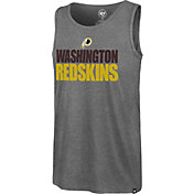 '47 Men's Washington Redskins Mesh Print Grey Tank Top