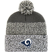 '47 Men's Los Angeles Rams Static Cuffed Charcoal Knit
