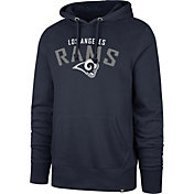 '47 Men's Los Angeles Rams Headline Navy Hoodie