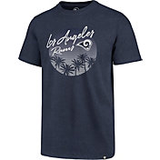 '47 Men's Los Angeles Rams Palm Tree Navy T-Shirt