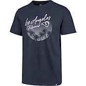 '47 Men's Los Angeles Rams Palm Tree Navy T-Shirt