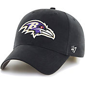 '47 Boys' Baltimore Ravens Basic MVP Kid Black Hat