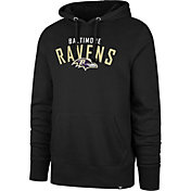 '47 Men's Baltimore Ravens Headline Black Hoodie
