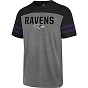 '47 Men's Baltimore Ravens Versus Club Grey T-Shirt