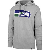 '47 Men's Seattle Seahawks Legacy Headline Grey Hoodie
