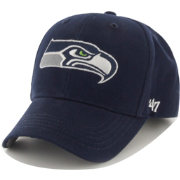 '47 Boys' Seattle Seahawks Basic MVP Kid Navy Hat