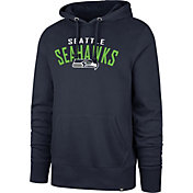 '47 Men's Seattle Seahawks Headline Navy Hoodie