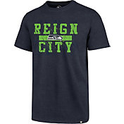 '47 Men's Seattle Seahawks Reign City Navy T-Shirt