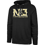 '47 Men's New Orleans Saints Big Easy Football Headline Black Hoodie