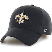 '47 Boys' New Orleans Saints Basic MVP Kid Black Hat