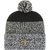 '47 Men's New Orleans Saints Static Cuffed Black Knit
