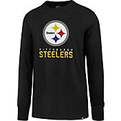 '47 Men's Pittsburgh Steelers Rival Black Long Sleeve Shirt