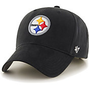 '47 Boys' Pittsburgh Steelers Basic MVP Kid Black Hat