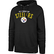 '47 Men's Pittsburgh Steelers Headline Black Hoodie