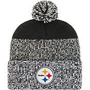 '47 Men's Pittsburgh Steelers Static Cuffed Black Knit
