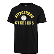 '47 Men's Pittsburgh Steelers Rival Black T-Shirt