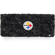 '47 Men's Pittsburgh Steelers Penelope Black Headband