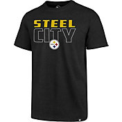'47 Men's Pittsburgh Steelers Steel City Black T-Shirt