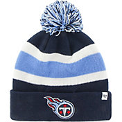 227675225fd Product Image ·  47 Men s Tennessee Titans Breakaway Navy Pom Knit ·