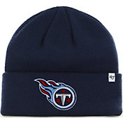 '47 Men's Tennessee Titans Basic Navy Cuffed Knit Beanie