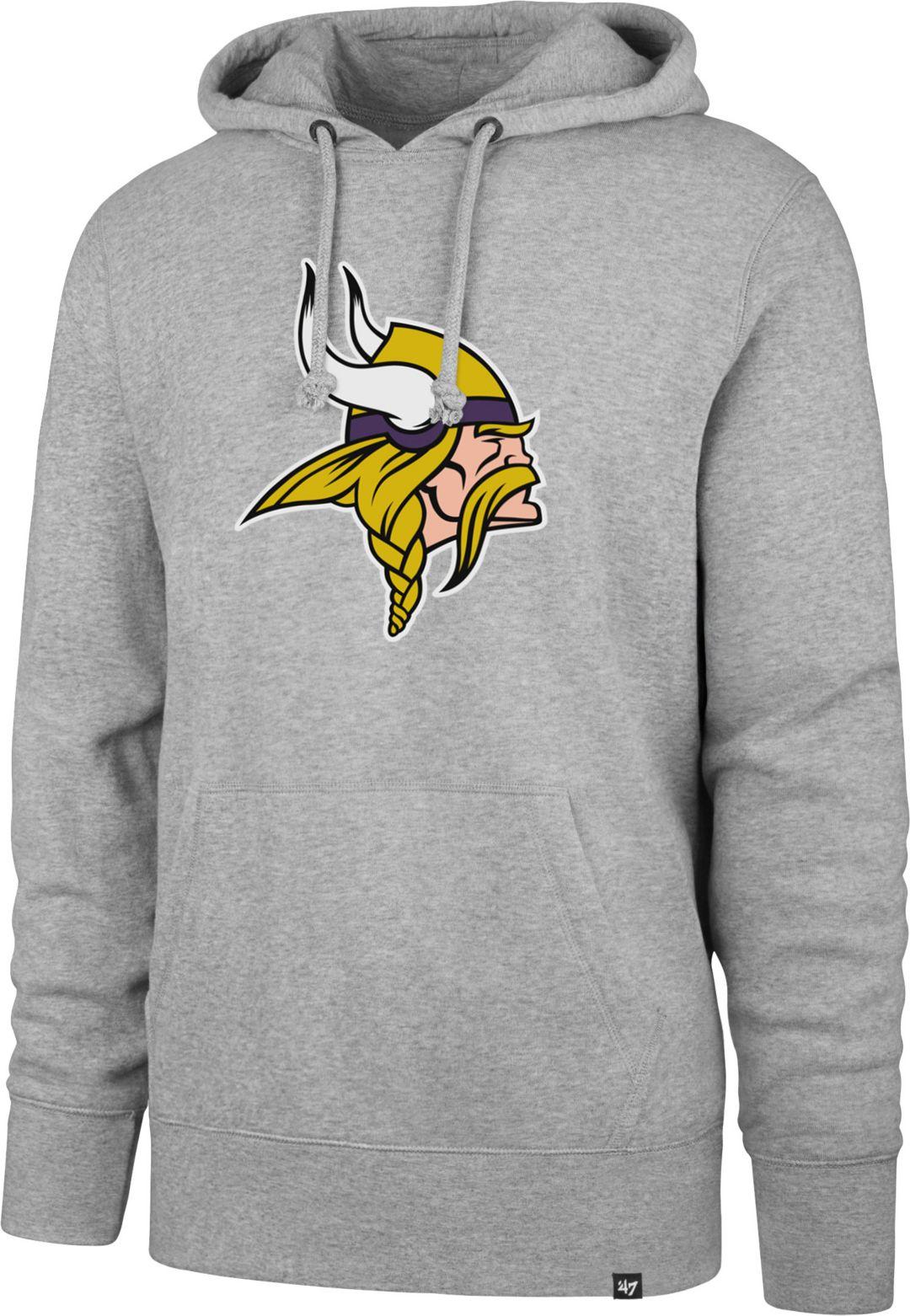 online store 0694c 5e07e '47 Men's Minnesota Vikings Headline Grey Hoodie