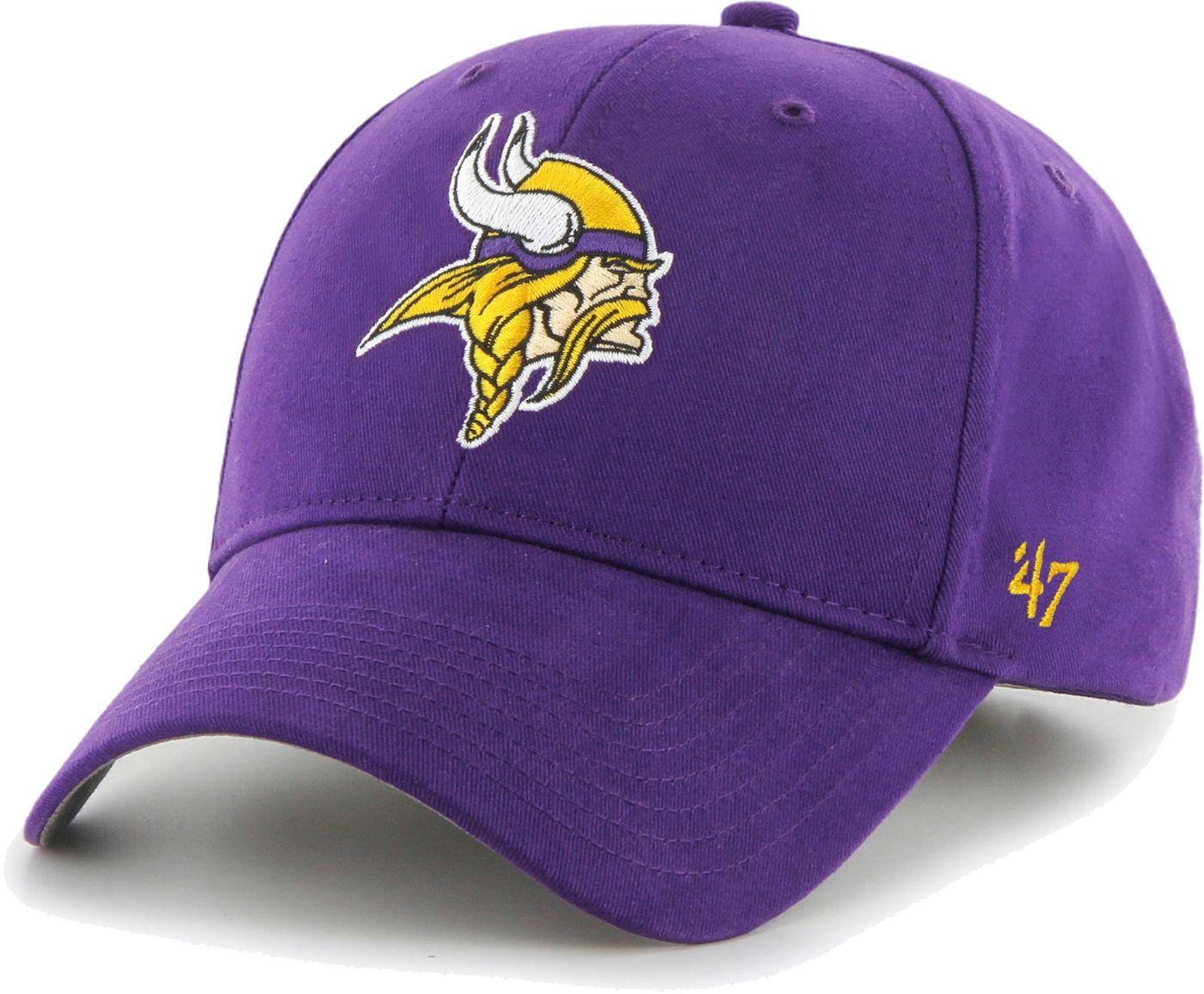 '47 Boys' Minnesota Vikings Basic MVP Kid Purple Hat