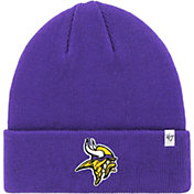 '47 Men's Minnesota Vikings Basic Purple Cuffed Knit Beanie