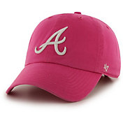 '47 Women's Atlanta Braves Clean Up Magenta Adjustable Hat