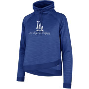 '47 Women's Los Angeles Dodgers Commuter Pullover Hoodie