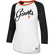 '47 Women's San Francisco Giants Raglan Three-Quarter Sleeve Shirt
