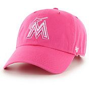 '47 Women's Miami Marlins Clean Up Adjustable Hat