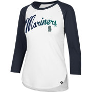 '47 Women's Seattle Mariners Raglan Three-Quarter Sleeve Shirt