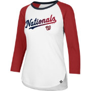 '47 Women's Washington Nationals Raglan Three-Quarter Sleeve Shirt