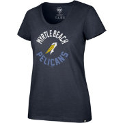 '47 Women's Myrtle Beach Pelicans Club T-Shirt