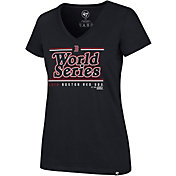 '47 Women's 2018 World Series Boston Red Sox V-Neck T-Shirt