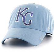 '47 Women's Kansas City Royals Sparkle Clean Up Adjustable Hat