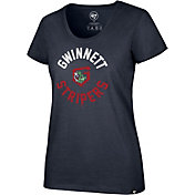 '47 Women's Gwinnett Stripers Club T-Shirt