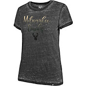 '47 Women's Milwaukee Bucks Fadeout T-Shirt