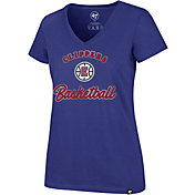 '47 Women's Los Angeles Clippers Ultra Rival V-Neck T-Shirt