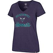 '47 Women's Charlotte Hornets Ultra Rival V-Neck T-Shirt
