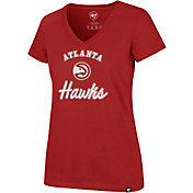 '47 Women's Atlanta Hawks Ultra Rival V-Neck T-Shirt