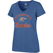 '47 Women's Oklahoma City Thunder Ultra Rival V-Neck T-Shirt