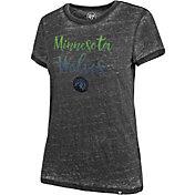 '47 Women's Minnesota Timberwolves Fadeout T-Shirt