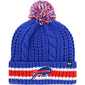 53bd0d17 Product Image · '47 Women's Buffalo Bills Sorority Royal Cuffed Pom Knit · '