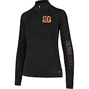 '47 Women's Cincinnati Bengals Shade Black Quarter-Zip Pullover