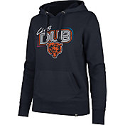 '47 Women's Chicago Bears Club Dub Navy Hoodie
