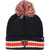 '47 Women's Chicago Bears Sorority Navy Cuffed Pom Knit